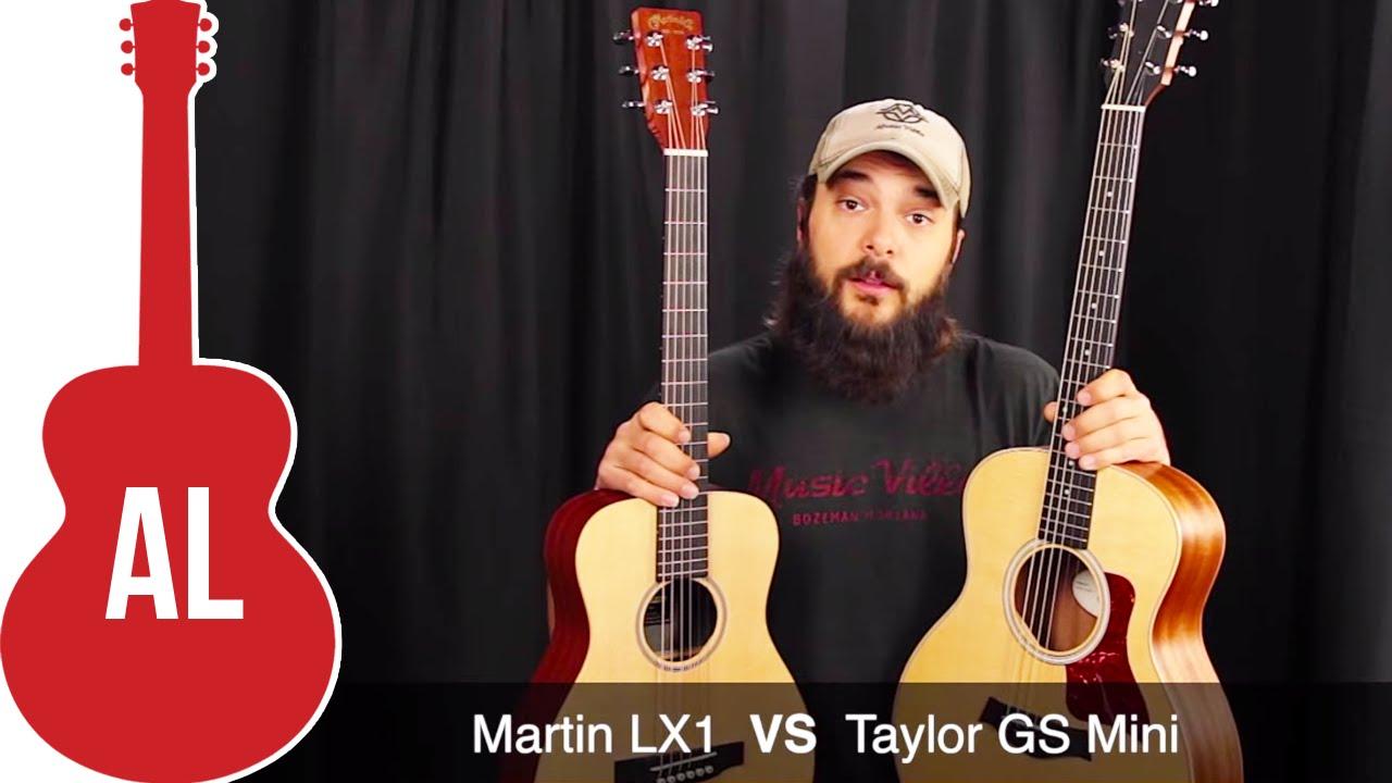 Taylor GS Mini VS Martin LX1 - YouTube