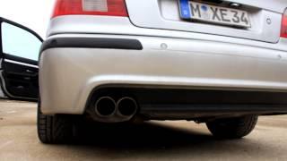 BMW 525i E39 с двигателем M54B25 и спортивным выпуском