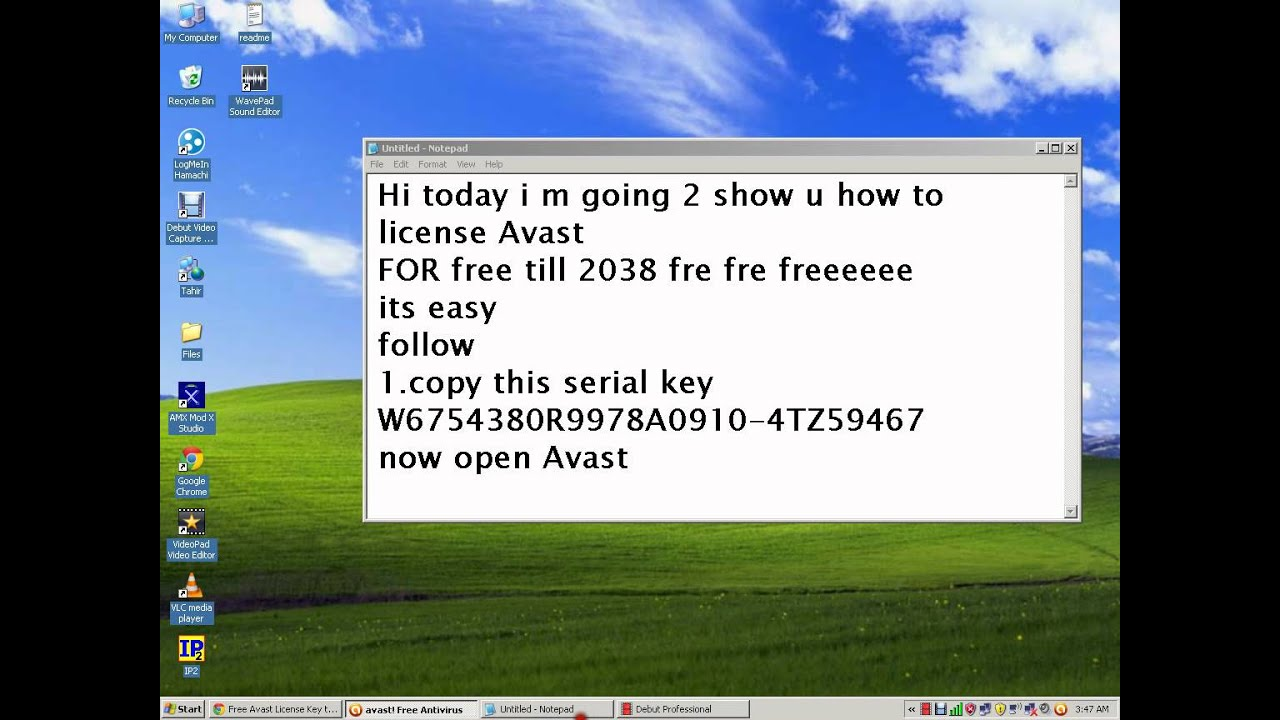 Avast Activation Free Antivirus With Serial key
