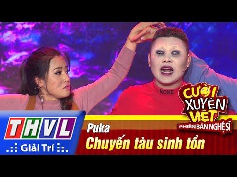 THVL | Cười xuyên Việt - Phiên bản nghệ sĩ 2016 | Tập 7 [2]: Chuyến tàu sinh tồn - Puka