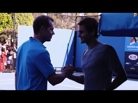 AO Expert: the Edberg effect on Federer - 2014 Australian Open