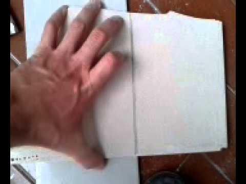 cortar baldosas sin herramientas