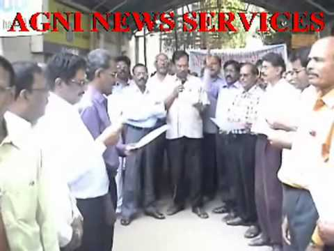 PUDUCHERRY ... ALL INDIA BANK STRIKE BEGINS