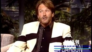 Johnny Carson: Robin Williams on Middle East Relations, 1991