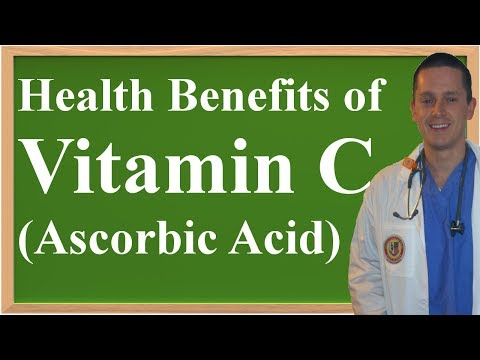 A Review of the Health Benefits of Vitamin C
