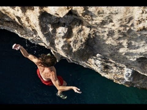 Deep Water Solo Climbing - Red Bull Psicobloc Olympos