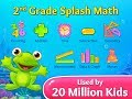 Grade 2 Splash Math Apps for Kids. Basic common core arithmetic drills & solving word problem games