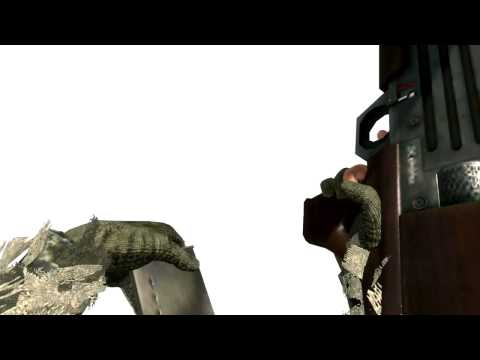 All White Screen Weapon # MW2 ! (OLD ANIM PART#4)