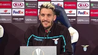 La conferenza stampa di Luis Alberto alla vigilia di Lazio-Sevilla