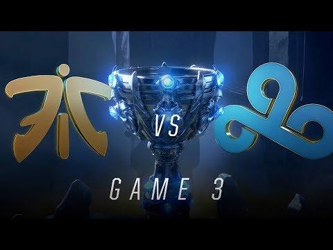 FNC vs C9 | Semifinal Game 3 | World Championship | Fnatic vs Cloud9 (2018)