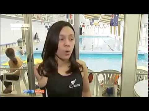 Young amputee sets sights on Paralympics