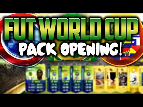 FIFA 14 FUT WORLD CUP PACK OPENING! OMG YESSS! LIVE REACTIONS!