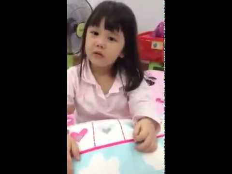 Bà tám 3 tuổi nói chuyện như người lớn siêu cute