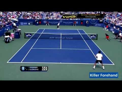 ATP 1000 Cincinnati Final 2012  Roger Federer vs Novak Djokovic HD
