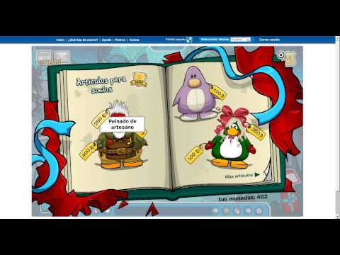 Sorteo de Club Penguin! (premio tarjeta 7 dias socio), bueno he deci hacer un sorteo de navidad para regalar espero que os haiga gustado un saludo i adiios