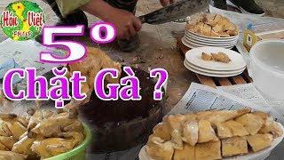 ✅ Chú Bộ Đội Chặt Gà Đẹp Nhất Năm 2017 Giữa Cái Rét 5 Độ Trên Biên Giới | Hồn Việt Food