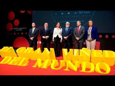 Inauguración I Cumbre Internacional del Vino