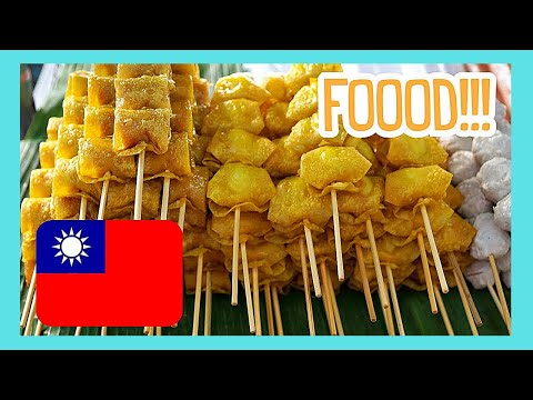 A tour of the night food market of Shilin (Taipei, Taiwan)