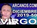 Video Horóscopo Semanal VIRGO  del 8 al 14 Diciembre 2019 (Semana 2019-50) (Lectura del Tarot)