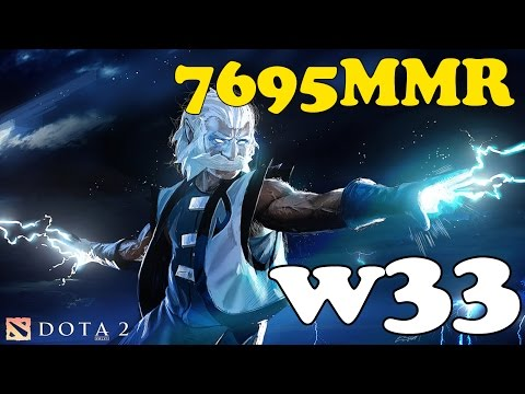Dota 2 Gameplay: w33 con Zeus 2