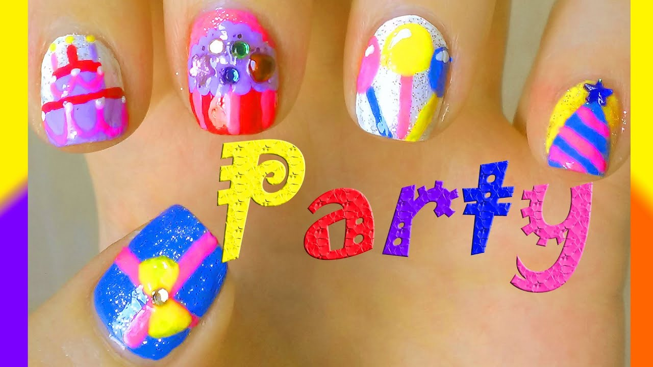 Outstanding Nail Designs For Your Birthday Inspiration - Nail Art ...