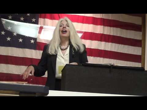 Rosa Koire - Speaks out on U.N. Agenda 21, The Agenda for the 21st Century