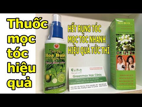 Thuốc mọc tóc chữa rụng tóc trị hói đầu tinh dầu bưởi - Greenmax Hair Clinic