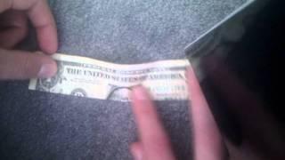 Illuminati Dollar Pyramid Fold