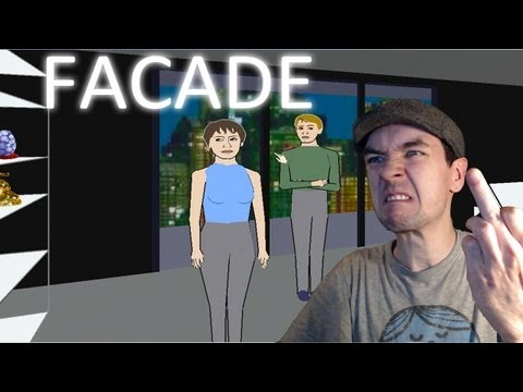 Facade - Part 2 | I HATE THESE PEOPLE | Interactive Text Based Game