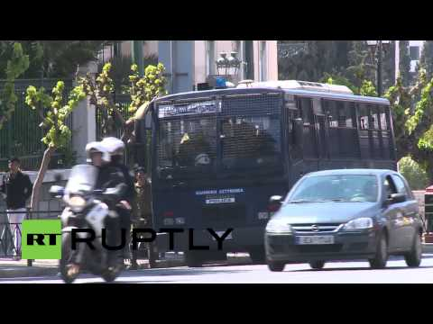 Greece: Security tight for Merkel's Athens visit