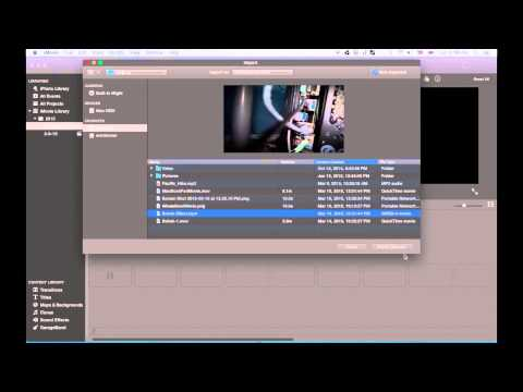 iMovie Tutorial 2015 - Blurry in the Background