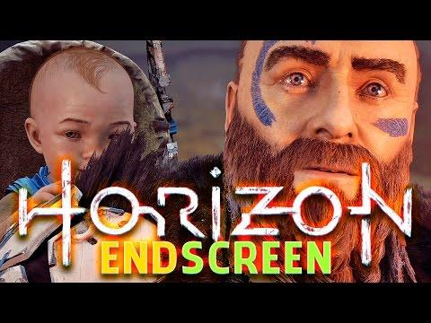 ENDSCREEN 💜 HORIZON - ZERO DAWN