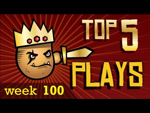 League of Legends Top 5 Plays Week 100, Thanks to Dunkey! YouTube Channel here : http://www.youtube.com/user/videogamedunkey ~Submit: http://www.protatomonster.com/submit.php ~Website: http://www.p...
