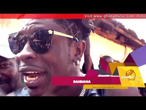 Bandana (Shatta Wale) - - Freestyles 'Dancehall King' in Nima