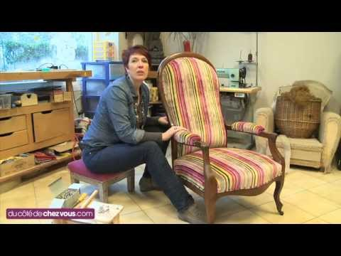 Restaurer un fauteuil voltaire youtube - Restaurer une chaise ...