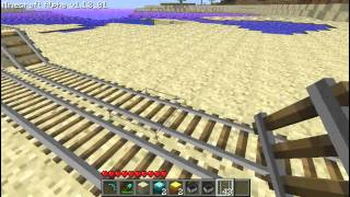 [ The Wild Side ] Minecraft Mine Cart Booster Tutorial