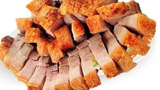 ✅ Cách Làm Thịt Heo Quay Giòn Bì Bằng Chảo Đơn Giản | Hồn Việt Food