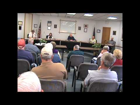 Rouses Point Village Board Meeting  5-14-12