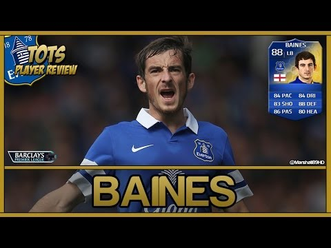 FIFA 14 UT - TOTS Baines || Team Of The Season Ultimate Team 88 Player Review + In Game Stats