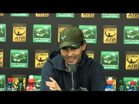 Rafael Nadal Talks About Losing To David Ferrer in Paris