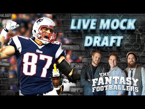 Fantasy Football LIVE Mock Draft Episode - FantasyDraftWizard.com
