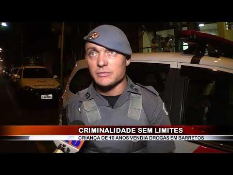 06/06/2018 - Criminalidade sem limites, traficante recruta criança de 10 anos para vender drogas em Barretos