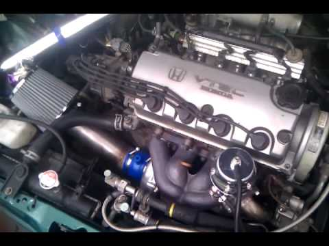 honda civic d16 turbo engine problems after 37miles at