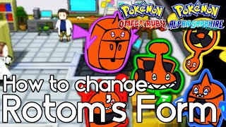 How To Change Rotom's Form – Pokemon Omega Ruby And