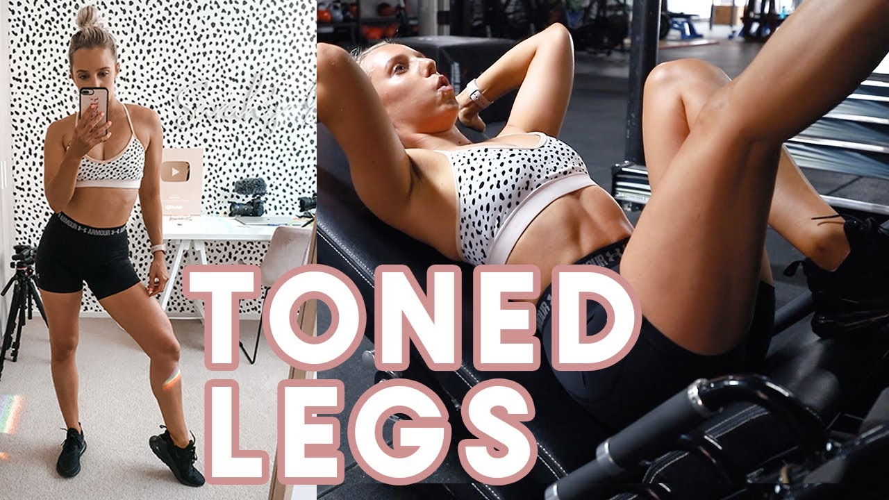 The workout that actually TONED my legs // FULL LEG WORKOUT