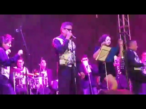 VALENTIN GARZA- EL PRESO (salsa en vivo)