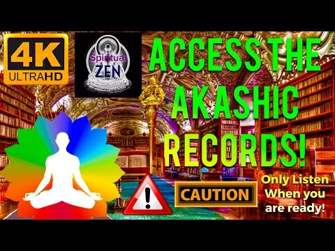☯ACCESS THE AKASHIC RECORDS FAST! MEDITATION - WARNING! ONLY LISTEN WHEN YOU ARE READY!