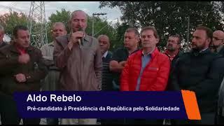 Aldo Rebelo começa sua sua caminhada rumo à Presidência da República em Santo André-SP