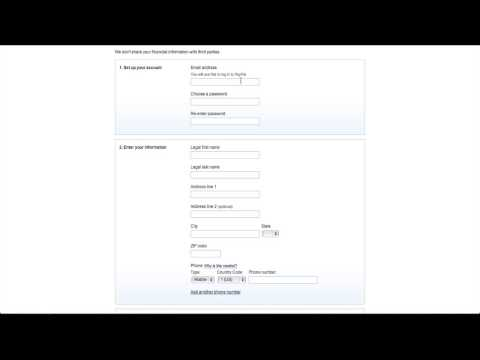 How To Setup A Paypal Account