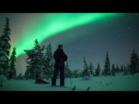 On the Hunt for the Northern Lights - FINLAND